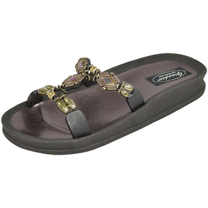 28288 AB Diamond Slide - Black