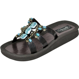 Grandco Sandals 28444 - Slide sandals in black