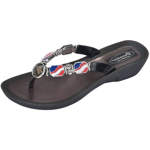 Grandco Sandals 28589 - Nautical Black