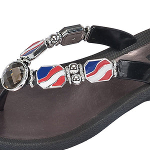 Grandco Sandals 28589 - Nautical Black Close Up