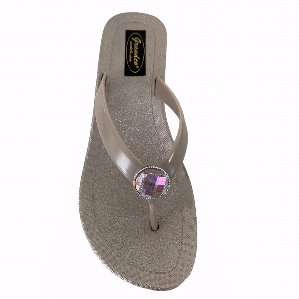 "Grandco Sandals Bijou 28643 - 2"" Wedge Sole sandals in Blue or Champagne"