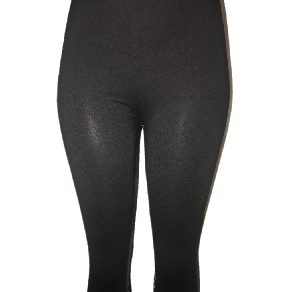 Black Leggings for Women. One size leggings to fit size 2-12