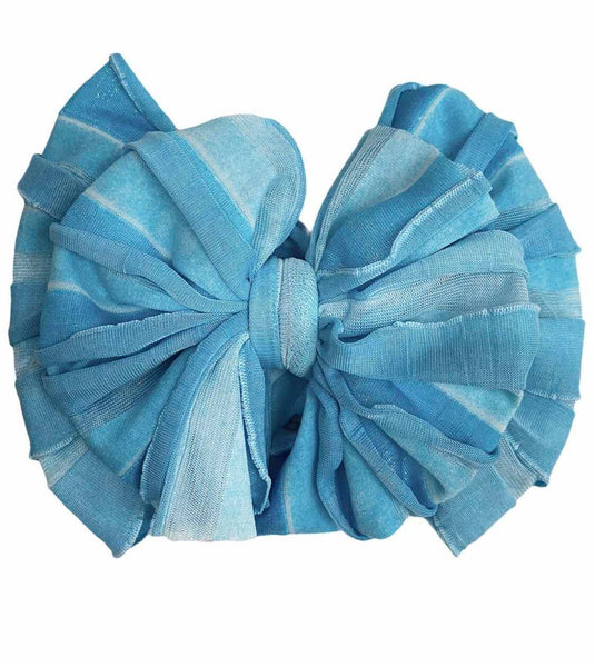 Waterfall Ruffled Headband