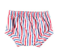 Red white and blue striped bloomers