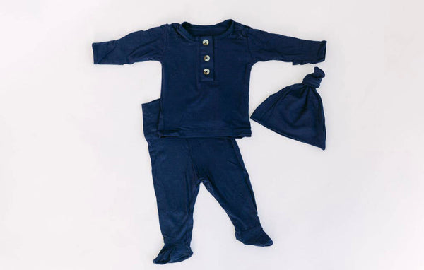 Navy Blue Newborn Set