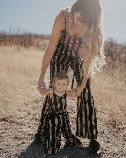 Whitney Mommy & Me Striped Jumpsuit