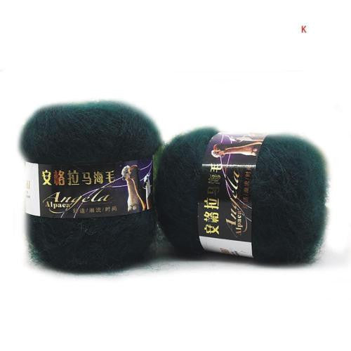 Colorful Soft Angola Mohair