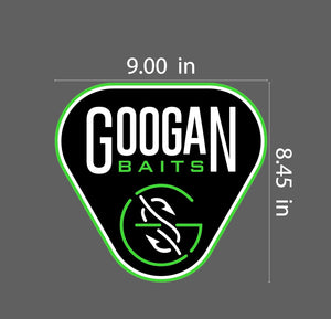 Googan Baits Boat Carpet Decal