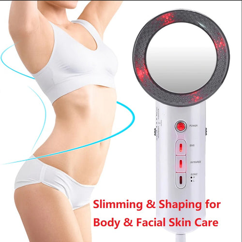 3 in 1 Slimming Massager for Facial and Body Skin Care