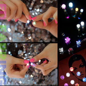 Hot Sale 1 PCS LED Earring Light Up Glowing Ear