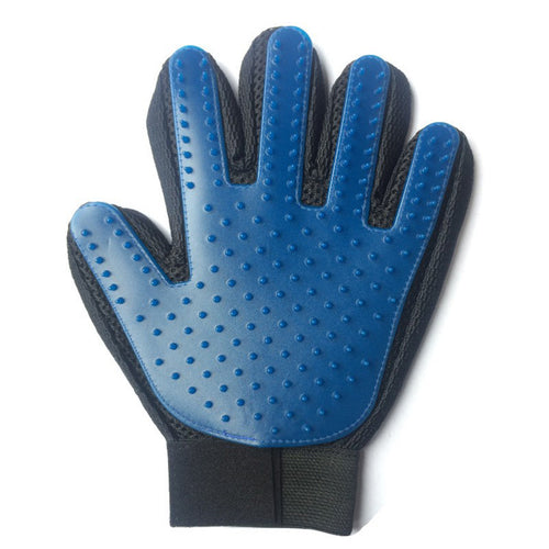 Silicone Pet Grooming Glove For Cats and Dogs hair