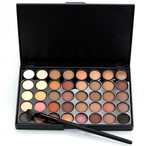 Pearlescent  40Colors Matte Eyeshadow Palette