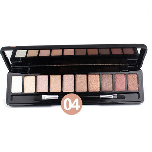10 Color Eye Shadow Palette Makeup for Cosmetic Beauty
