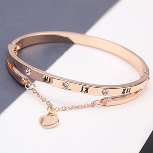 Rose Gold Stainless Steel Bracelets & Bangle Bracelet