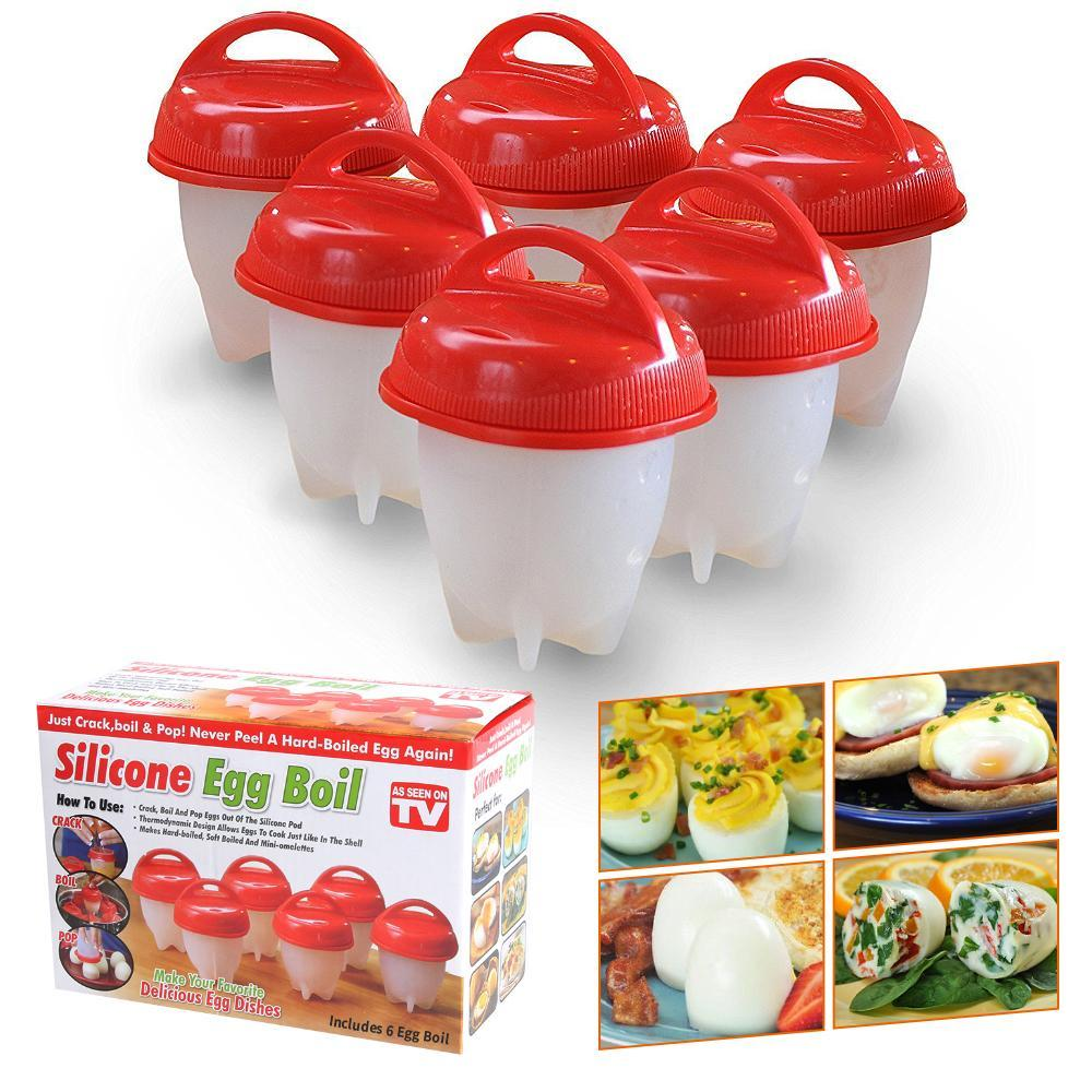 6pcs Silicone Egg Cooker – beautybuy