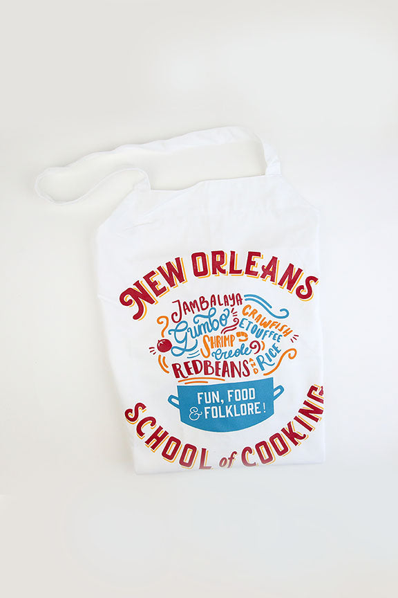New Orleans School of Cooking Apron