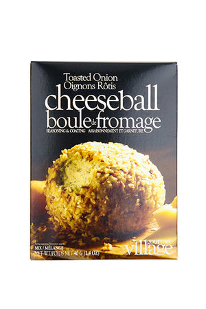 Gourmet du Village: Toasted Onion Cheeseball