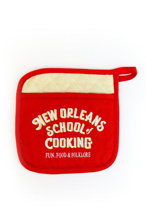 New Orleans School of Cooking Potholder