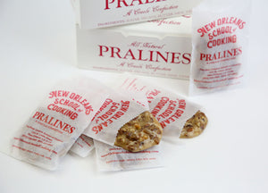 New Orleans School of Cooking All-Natural Original Pralines (2 Boxes of 12)