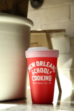 New Orleans School of Cooking Silipint 16 oz.