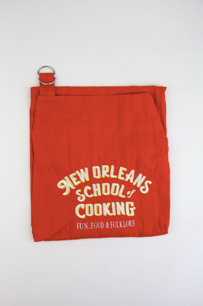 New Orleans School of Cooking Red Apron
