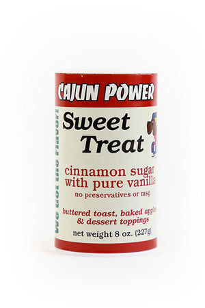 Cajun Power Sweet Treat Cinnamon Sugar