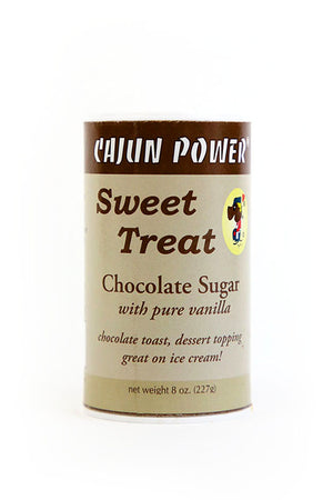 Cajun Power Sweet Treat Chocolate Sugar