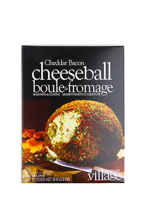 Gourmet du Village: Cheddar Bacon Cheeseball