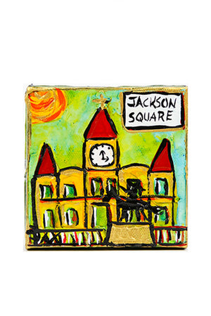 Jax Frey Jackson Square Mini Art
