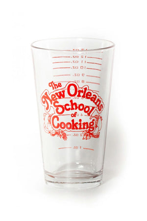 New Orleans School of Cooking Measuring Glass