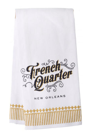 French Quarter Tea Towel