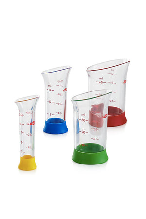 4-Piece Mini Measure Beaker Set
