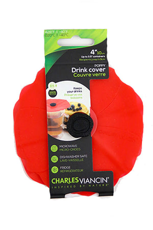 "4"" Drink Cover (Set of 2)"