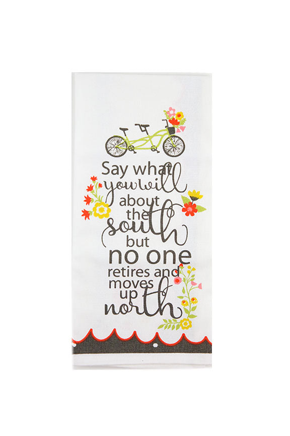Say What You Want Tea Towel