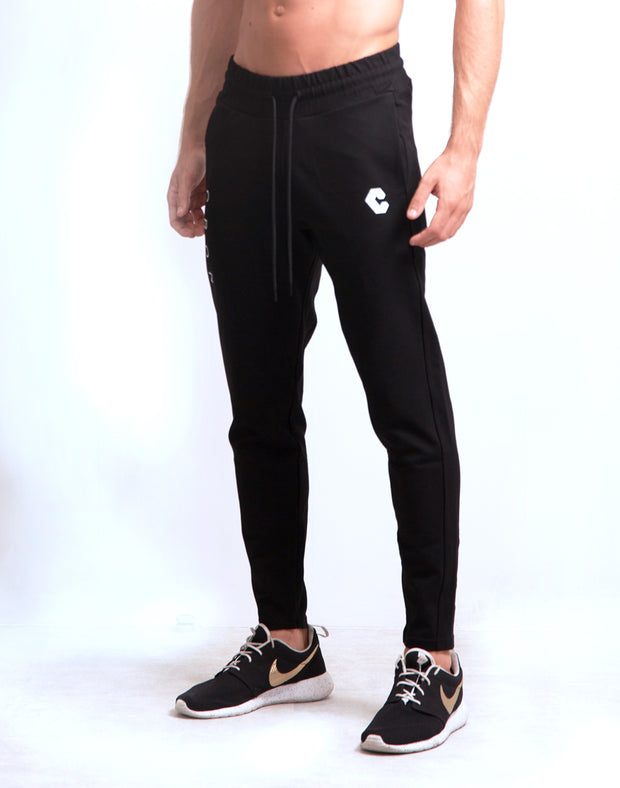 Mode Basic Pants-Black