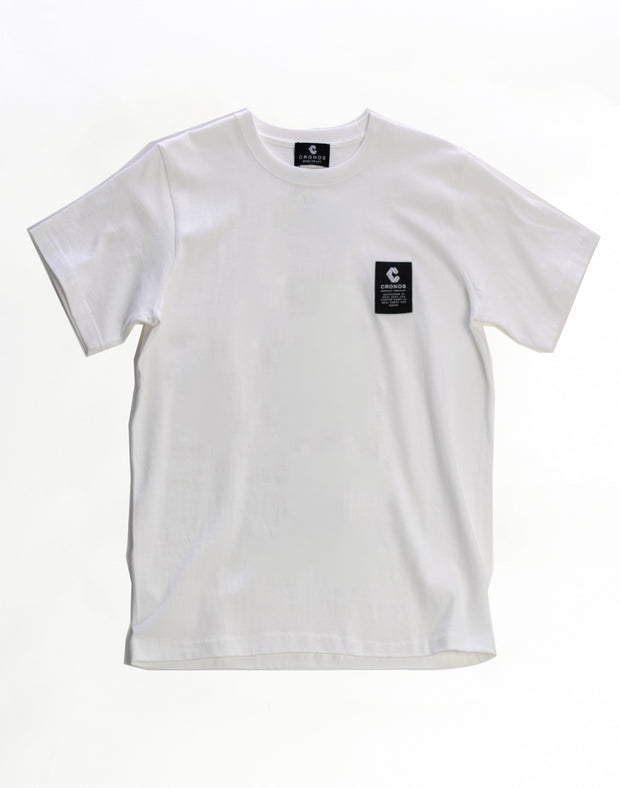 CRNS Back Logo T-Shirts-White