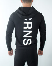 CRNS Back Log Zip Up Parka BLACK