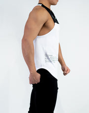 Mode Side Logo Bicolor NoSleeve White