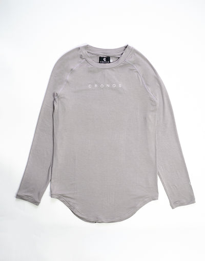 "CRONOS""OUTLAST"" LONG SLEEVE GRAY"