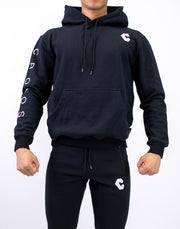 CRONOS ARM LOGO PARKA BLACK