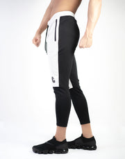 MODE BiCOLOR FIT PANTS BEG×BLK