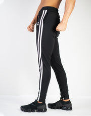 MODE 2STRIPE PANTS (SUMMER FABRIC)BLACK