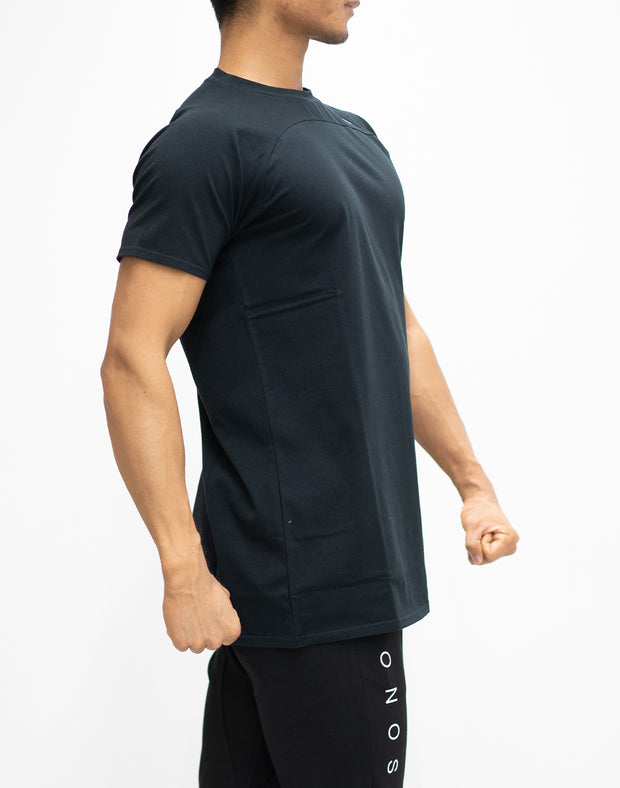 CRONOS RAGRANSLEEVE T-SHIRT BLACK
