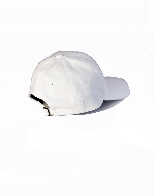 CRNS WASH LOGO CAP WHITE