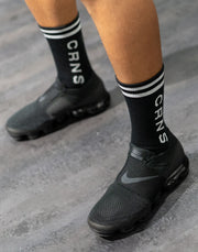 CRNS LOGO SOCKS BLACK