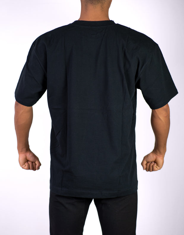CRNS Over Size T-Shirt BLACK