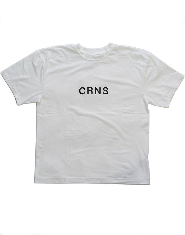 CRNS Over Size T-Shirt WHITE