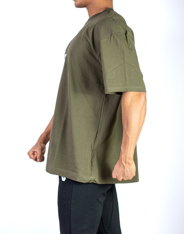 CRNS Over Size T-Shirt KHAKI
