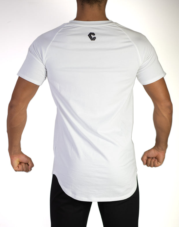 CRNS Line Fit T-Shirt WHITE