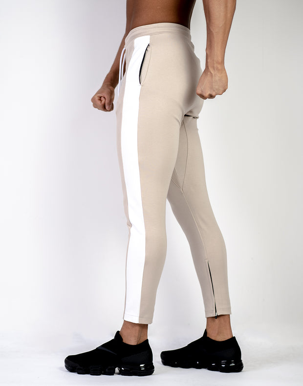Mode Thick line Pants BEIGE